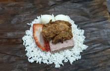 Bánh Xôi Gà (Lò Mậy Cáy)