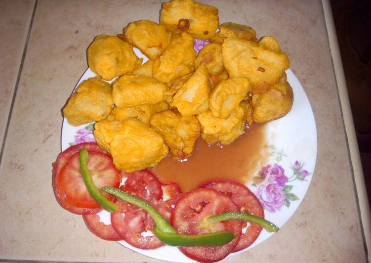 Recipe: Delicious Deep fried potatoes..