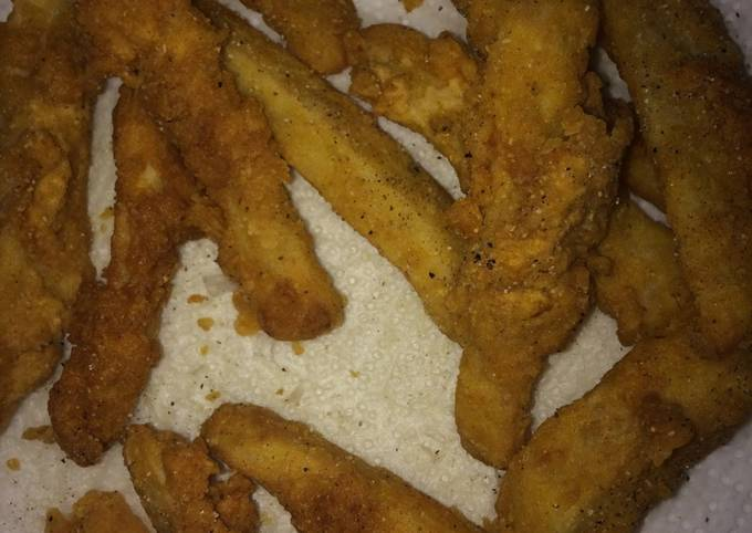 Homemade French frys