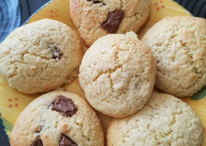 Scones cookies fourrés