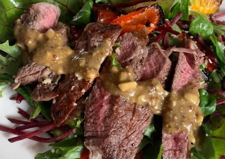 Easiest Way to Make Any-night-of-the-week 4-ingredient Steak Salad Dressing