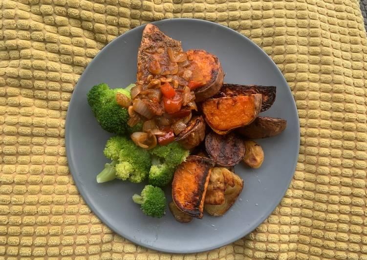Recipe: Flavorful Caribbean Salmon