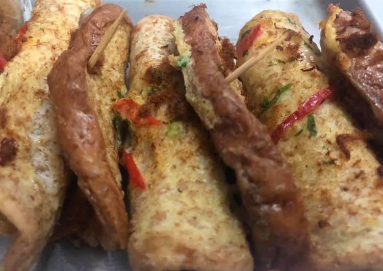 Roti abon khas papua