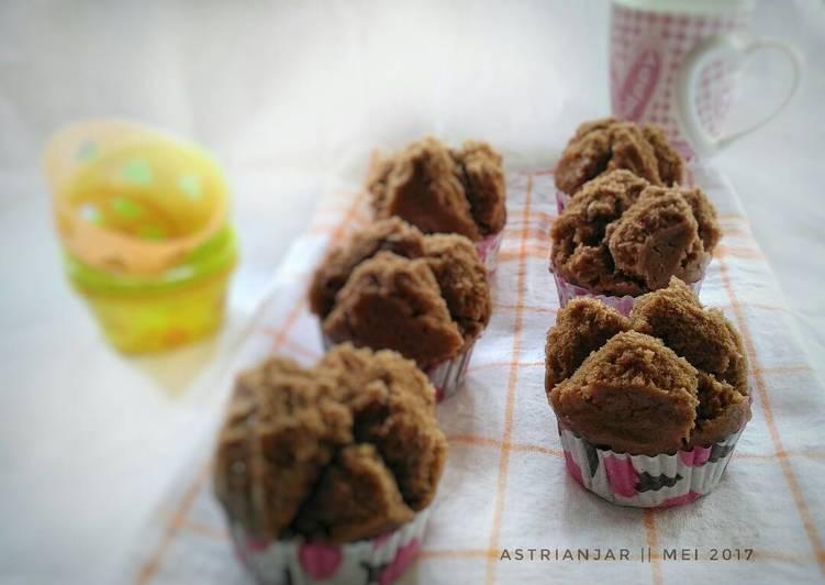 Bolu Coklat Kukus Energen (eggless)