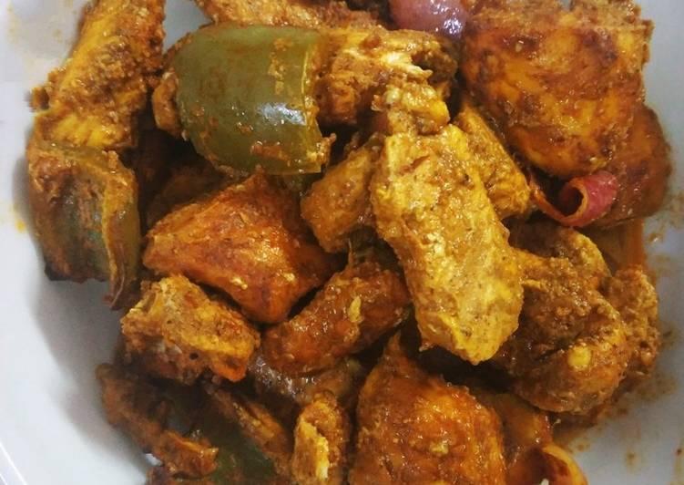 Easy Chicken Sukha