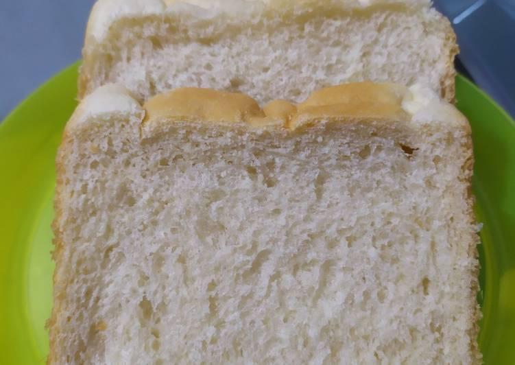 Resep Shoku-pan (Roti Tawar Jepang) Paling Mudah