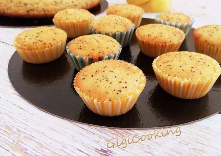Comment Préparer Des Mini cakes citron pavot au lait Ribot