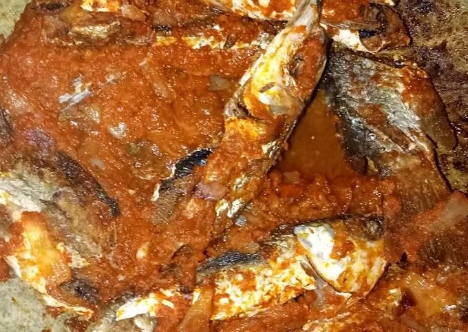 Cara Memasak Ikan sambal merah bombai Anti Gagal