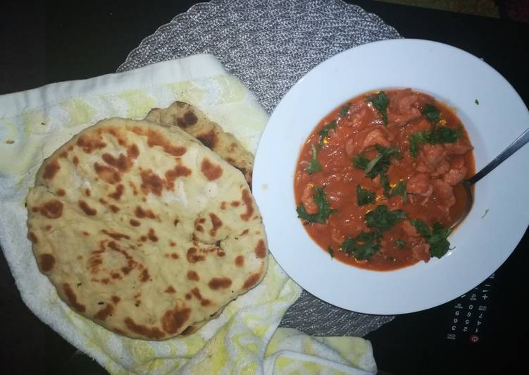Nan bread and chicken curry #localfoodcontest_Nairobi_West