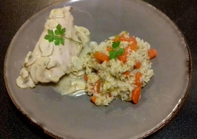 La poule au riz façon Mamie