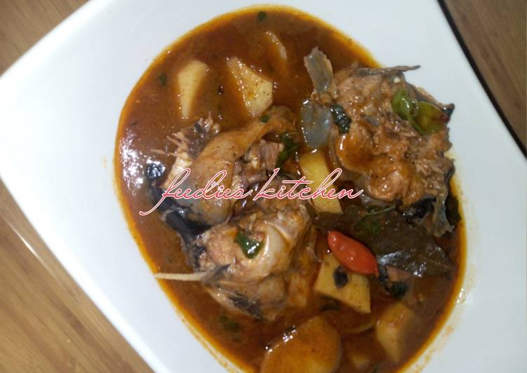 Step-by-Step Guide to Prepare Top-Rated Catfish pepper soup
