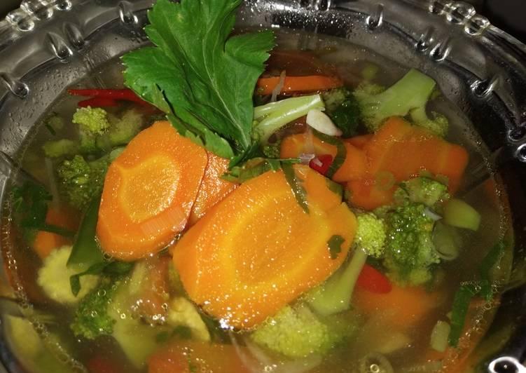 Resep Sup sayur simple Yang Mudah Bikin Nagih