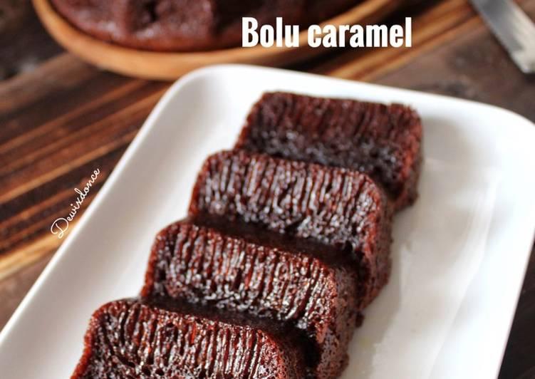 cara buat Bolu Caramel - Sajian Dapur Bunda