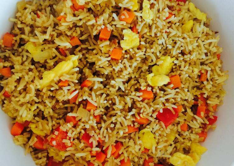 Easiest Way to Cook Perfect Nasi Goreng (only egg)