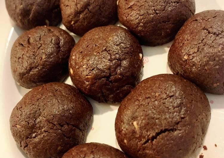 Recipe of Ultimate Triple Chocolate Crinkle Cookies