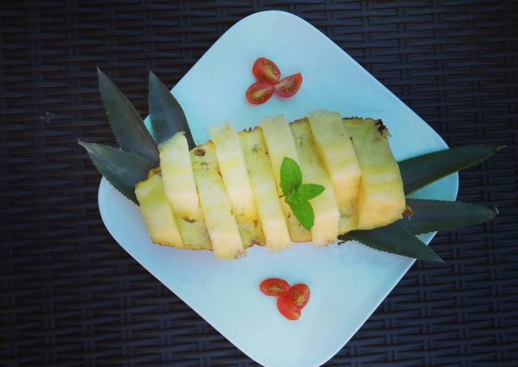 Easiest Way to Make Perfect 🍍Ananas Frais🍍