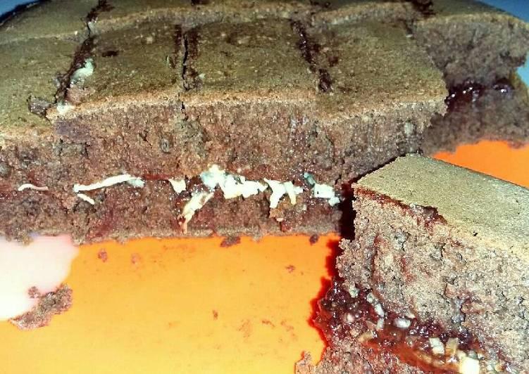 Martabak brownies teflon (mudah,enak,bikin ketagihan)