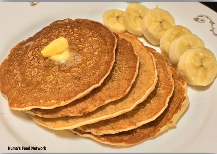 Easiest Recipe: Perfect Eggless Banana Pancakes