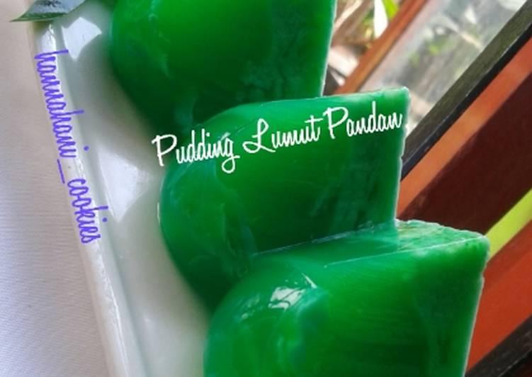 Pudding Lumut Pandan
