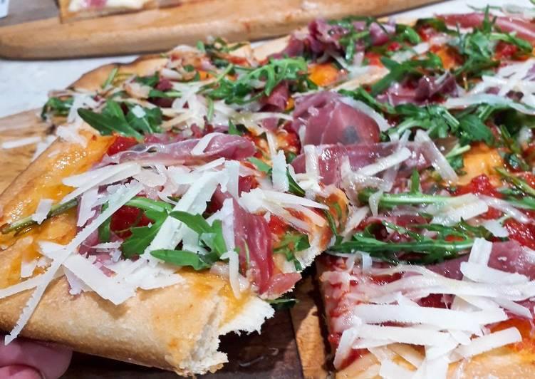 Masa para pizza casera argentina
