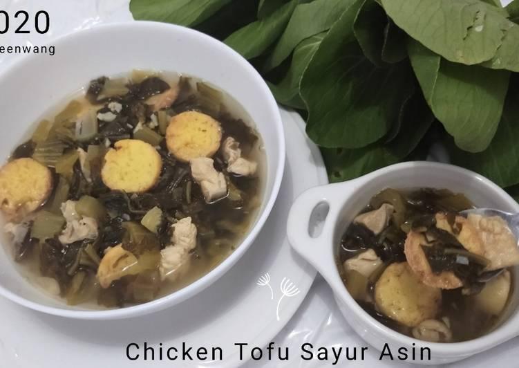 Chicken Tofu Sayur Asin
