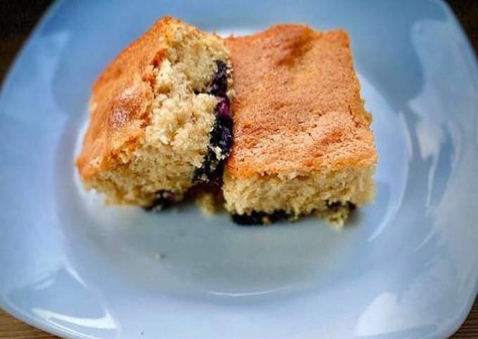 Blueberry fluff cake 🥮