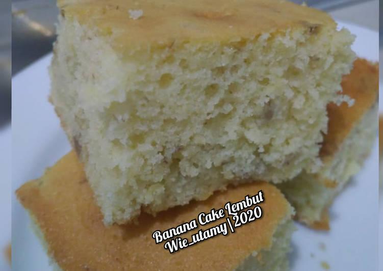 Banana Cake Lembut / Bolu Pisang