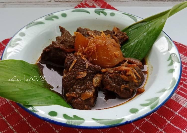 Semur daging (resep jadul)