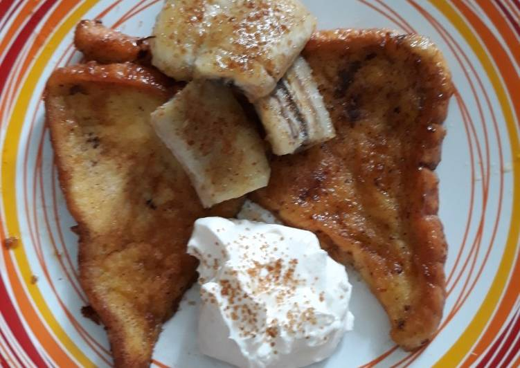 Caramel & Brown Sugar French Toast Cheese Cream Topping