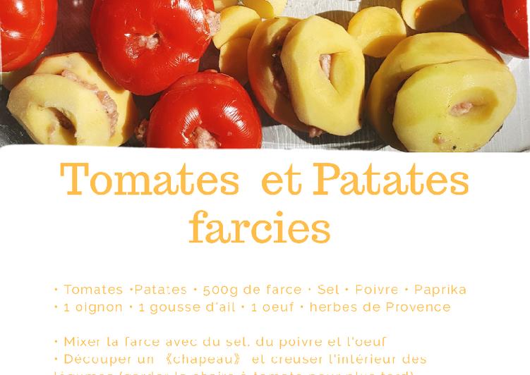 Patates et Tomates farcies
