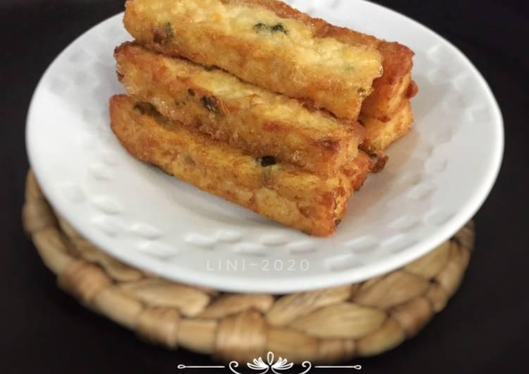 Tofu Chicken Stick cemilan sehat - menu praktis bekal anak sekolah