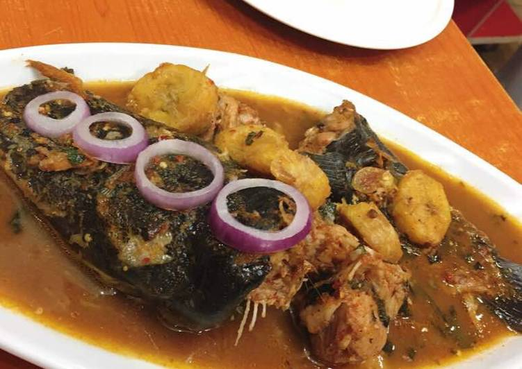 Steps to Prepare Any-night-of-the-week Catfish and plantain peppersoup