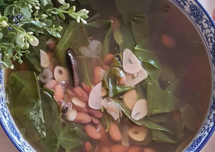 Sayur (Angeun) Kacang Merah (Bereum)