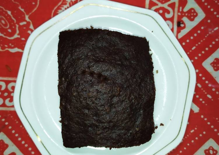 Brownies Cokelat untuk Diet (low carbs low sugar)
