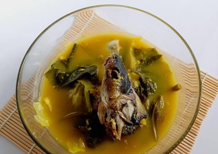Sayur Asam Khas Kalsel (Pake ikan patin)