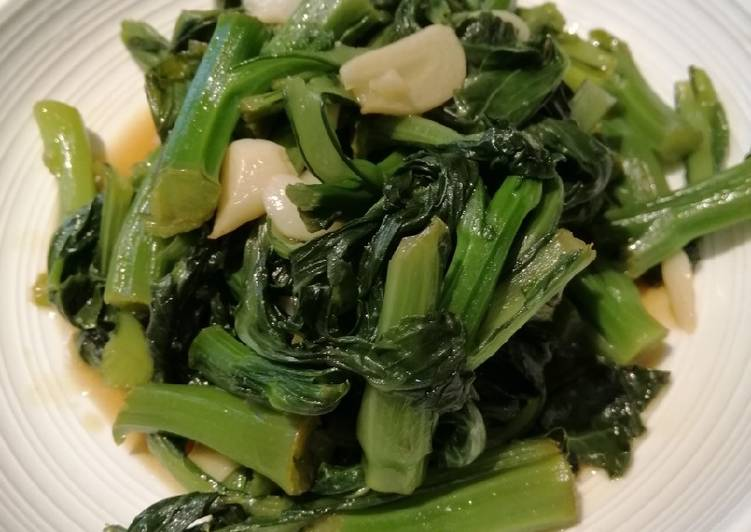 Sauteed Choisam w/ Oyster Sauce