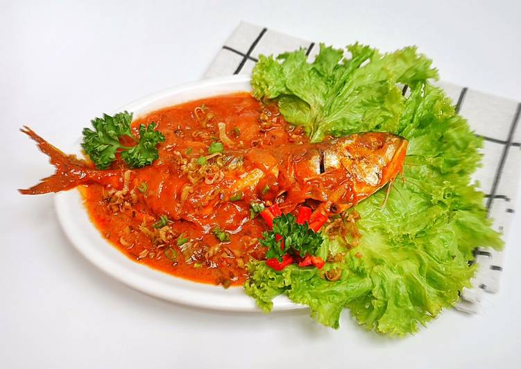 Ikan Kari Merah / Thai Red Curry Fish (Edisi Imlek)