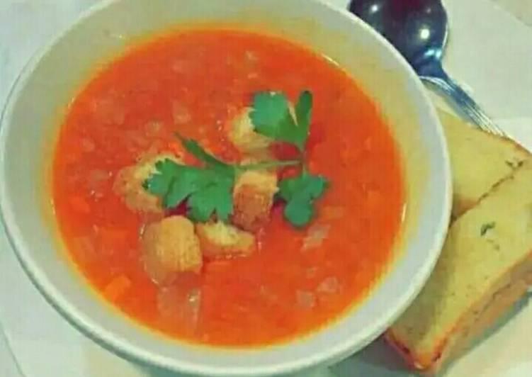 Easiest Way to Make Homemade Tomato soup