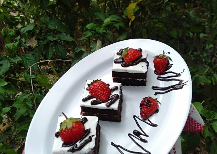 Brownies kukus lembut 2 🥚🥚