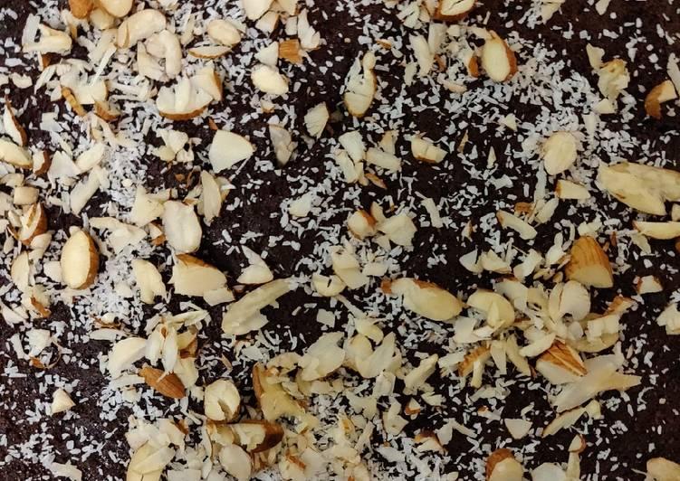 Recipe of Homemade Chocolate fudge brownies