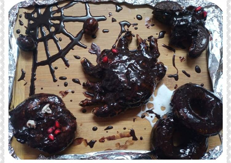 Recipe of Perfect Halloween Sweets (Donuts)
