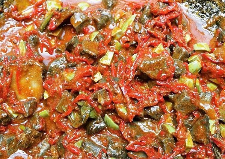 Sambel goreng ati lebaran(saya sebutnya ala mertua)
