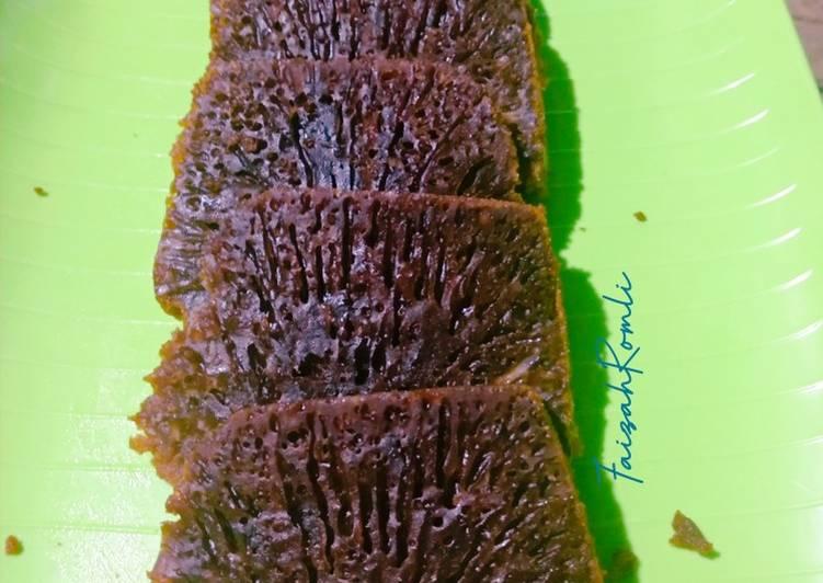 Kue Sarang Semut / Bolu karamel - cookandrecipe.com