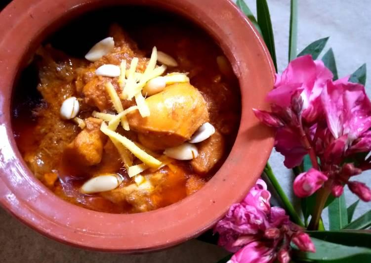 Recipe: Appetizing Chicken badami korma