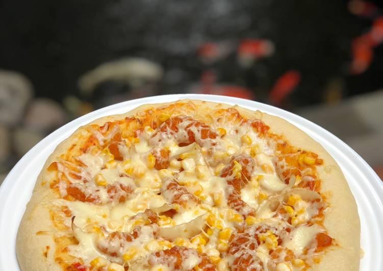 Yuk Dicoba Resep Adonan Pizza Mudah Pizza Dough Kalis Tanpa Ulen Enak