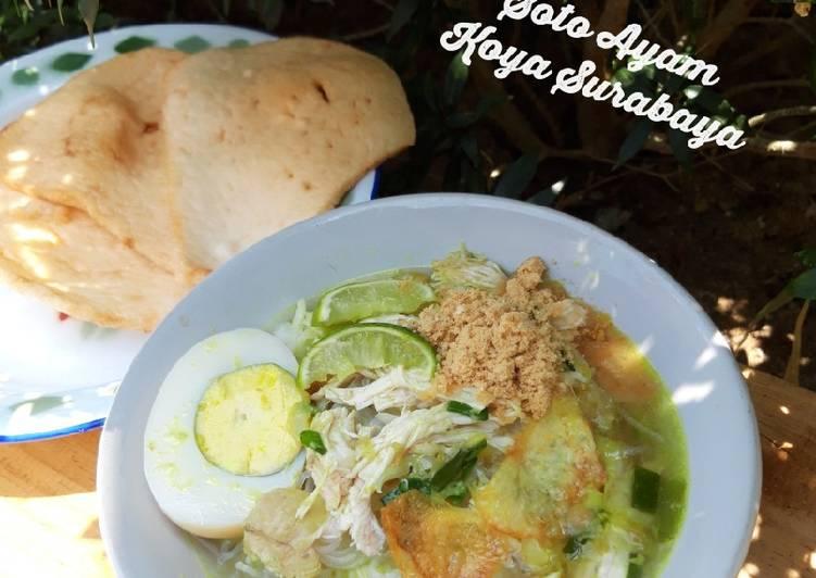 Soto Ayam Koya Surabaya