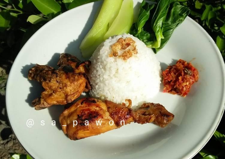 Resep Ayam Bakar Madu 🍯 ekonomis untuk jualan