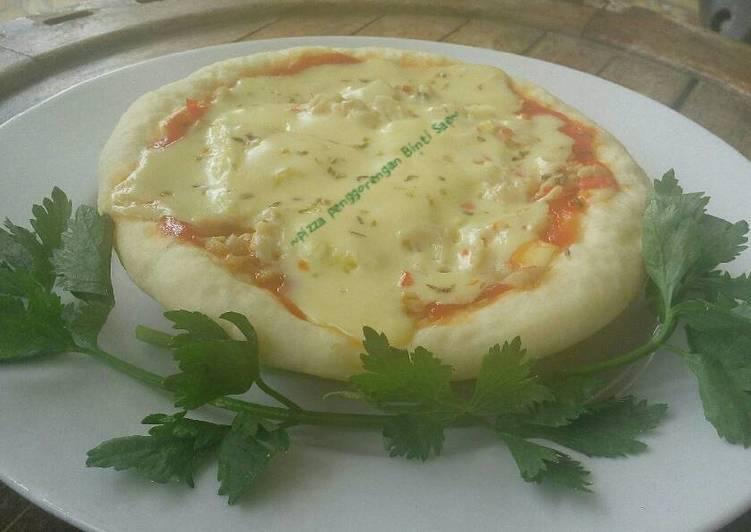 Pizza jamur tiram penggorengan