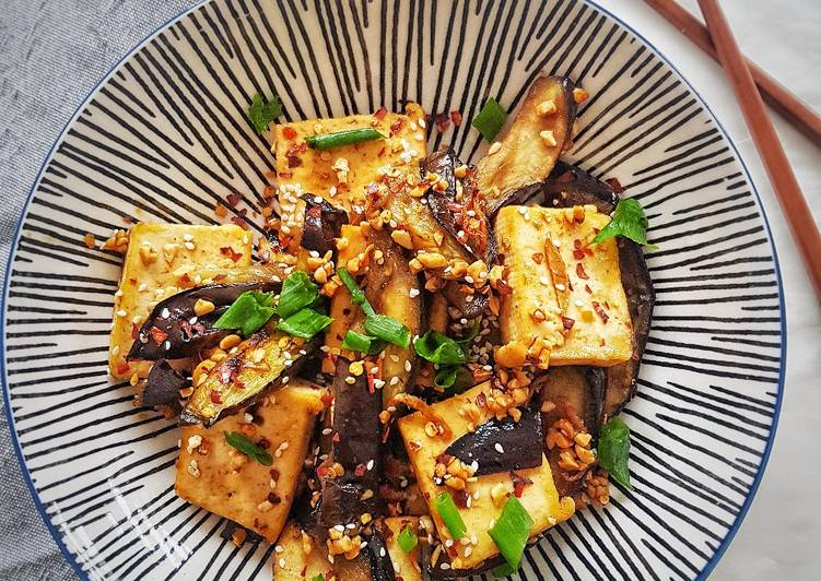 Recipe of Top-Rated Eggplant & tofu