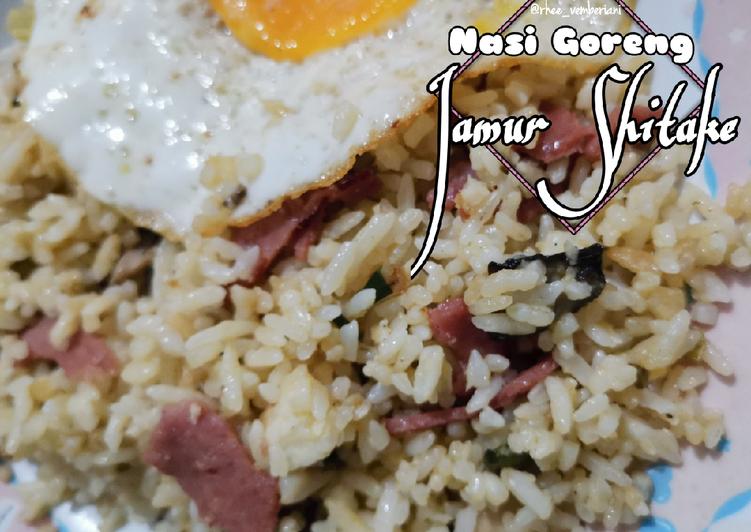 Nasi Goreng Mentega Jamur Shitake